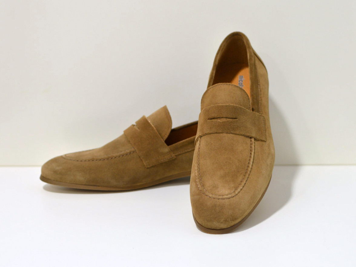 Nicola Benson Nice Loafer aus Nubukleder