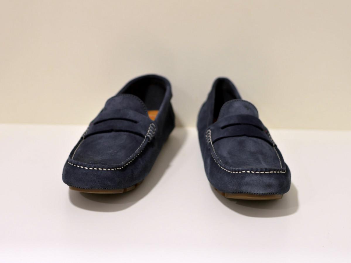 Pantofola d´Oro OLIVEIRO UOMO - Leder Mokassin blau
