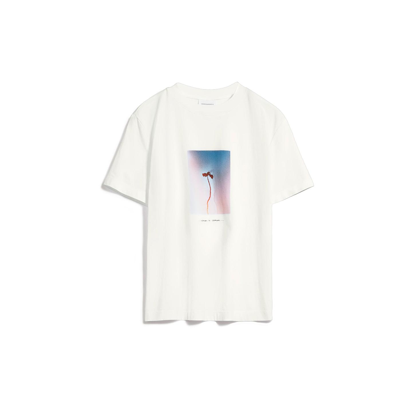 Armedangels  MIAA Natuer is Change T-Shirt aus Bio-Baumwolle undyed