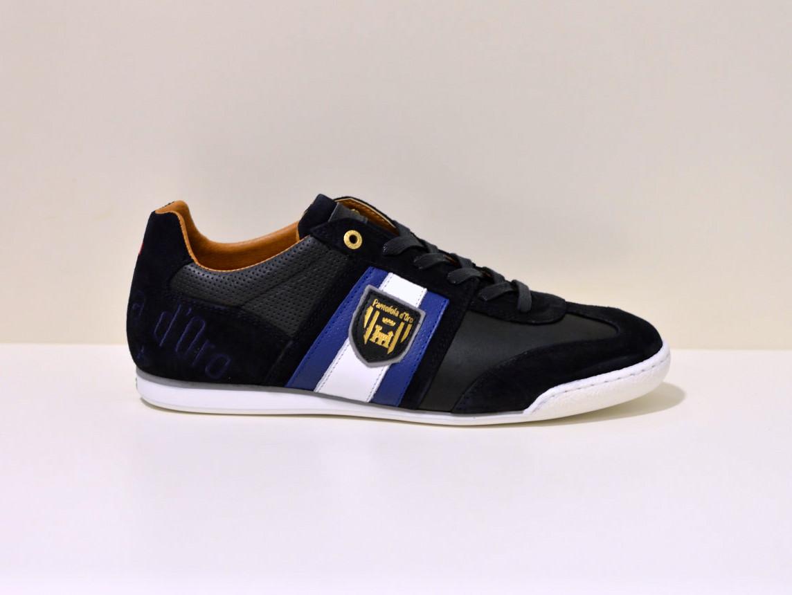 Pantofola d´Oro Sneaker aus Leder  Imola Scude blau