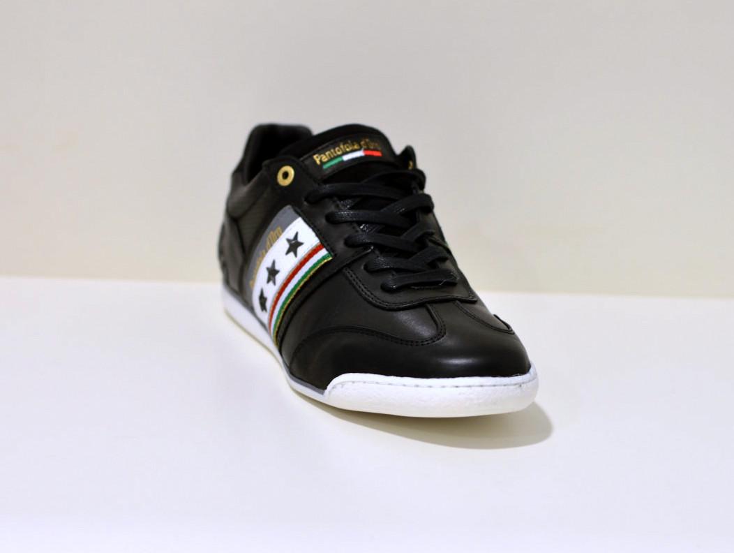 Pantofola d´Oro Sneaker aus Leder  Imola Romagna schwarz