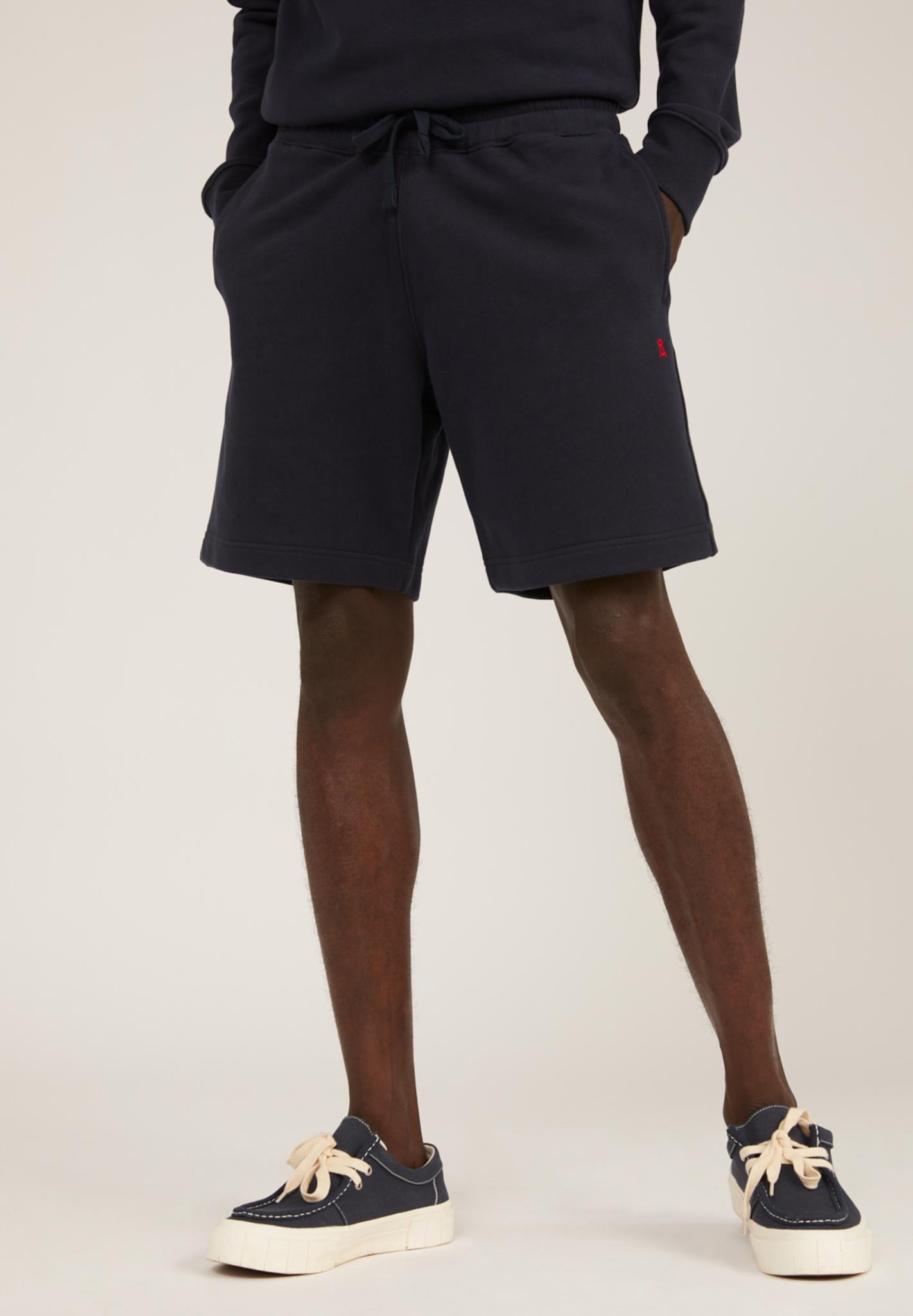 Armedangels MAARCEL COMFORT Sweat Shorts aus Bio-Baumwolle depth navy