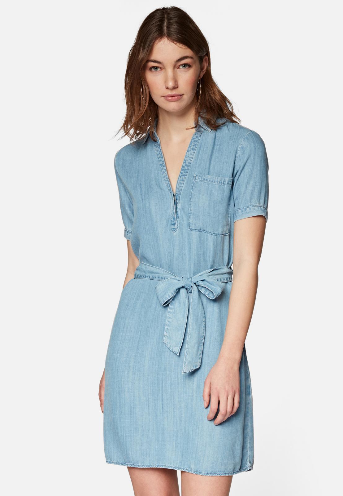 Mavi kurzes Jeanskleid aus Lyocell