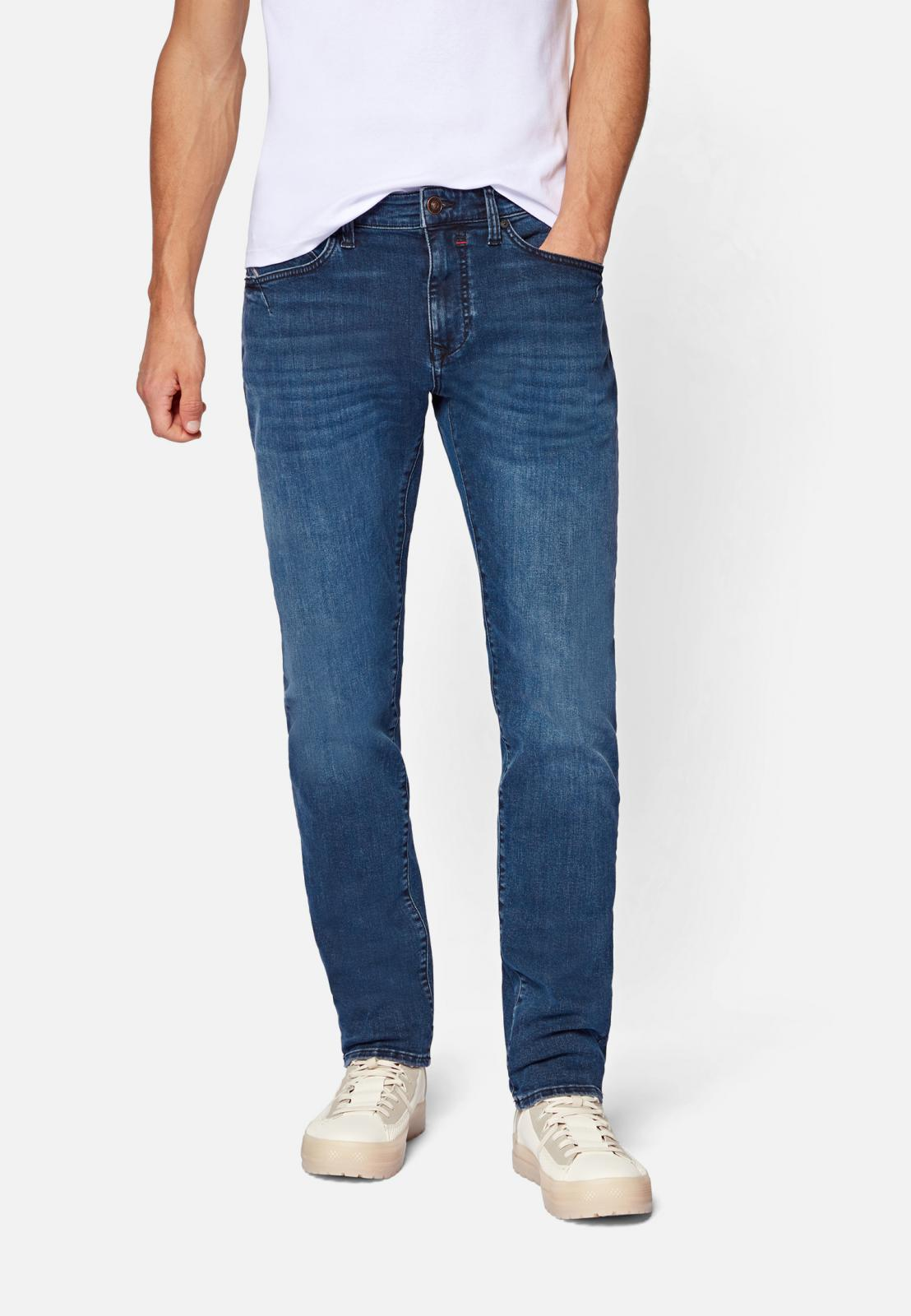 Mavi Jeans YVES | Slim Skinny, Button Fly ink brushed