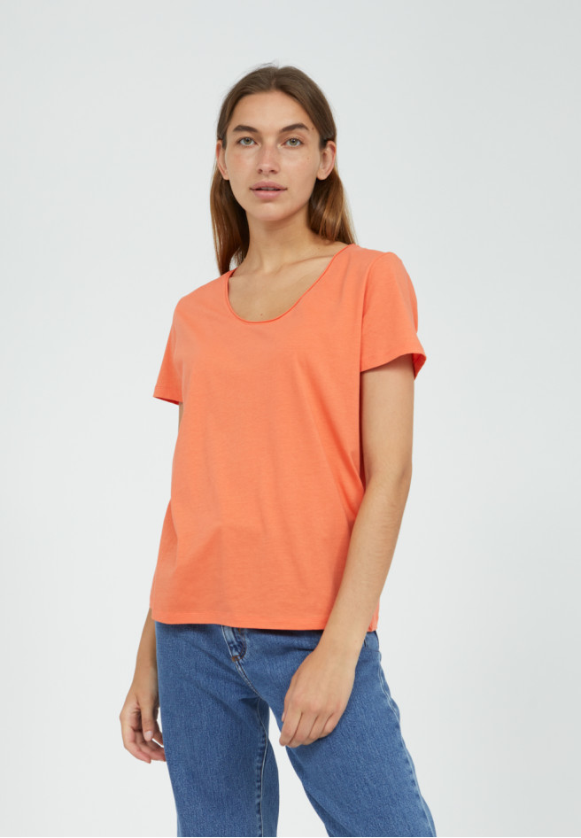 Armedangels HAADIA T-Shirt aus 100% Bio-Baumwolle sunrise