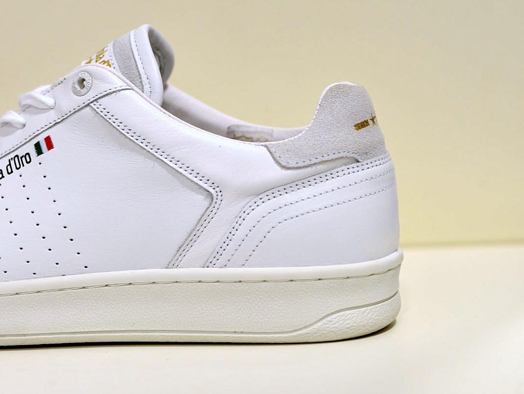 Pantofola d Oro Caltaro Uomo Men Schuhe Leder Sneaker