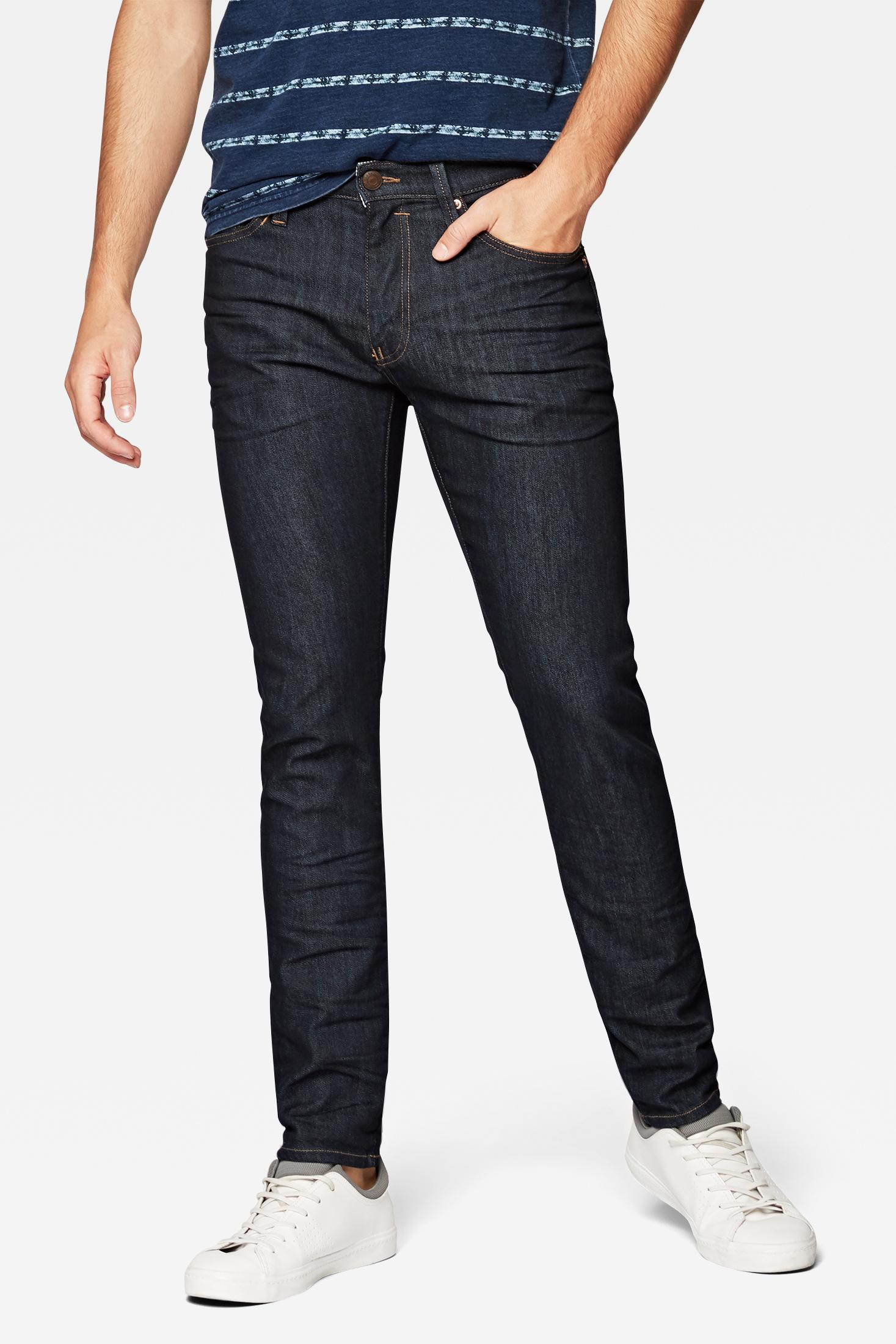 Mavi James Skinny Jeans in dunkelblau ohne verwaschung