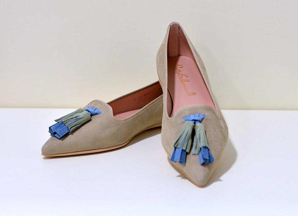 Pretty Ballerinas Ella ANGELIS Safari - Klassischer Ballerina coco