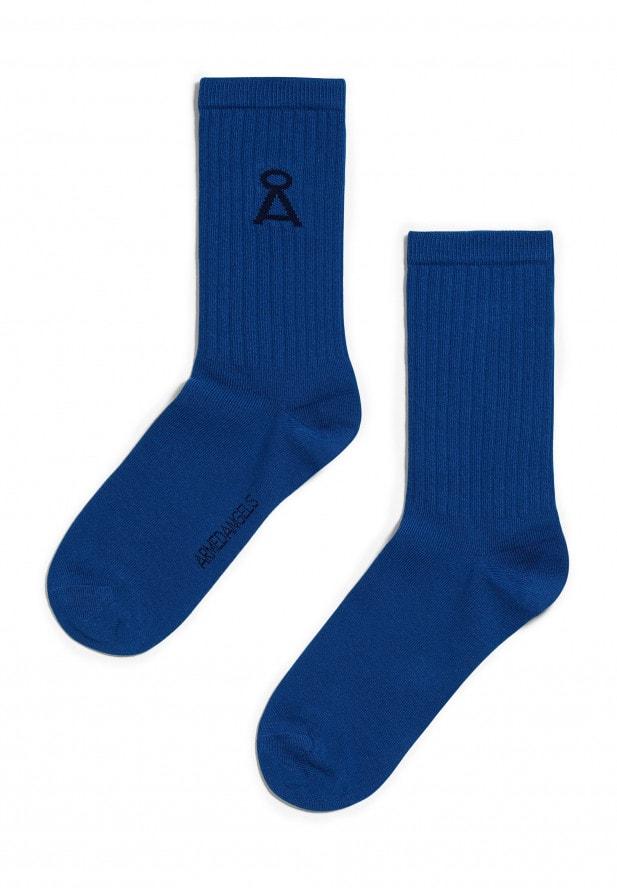 Armedangels SAAMU Socken aus Bio-Baumwoll Mix ultramarine