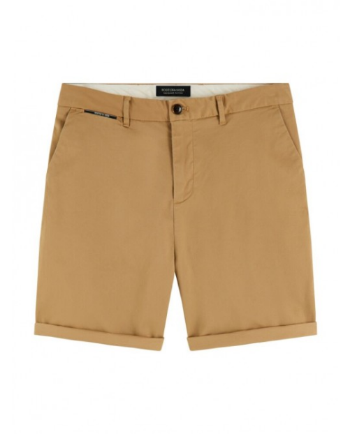 Scotch&Soda Chino-Shorts aus Pima-Baumwolle beige