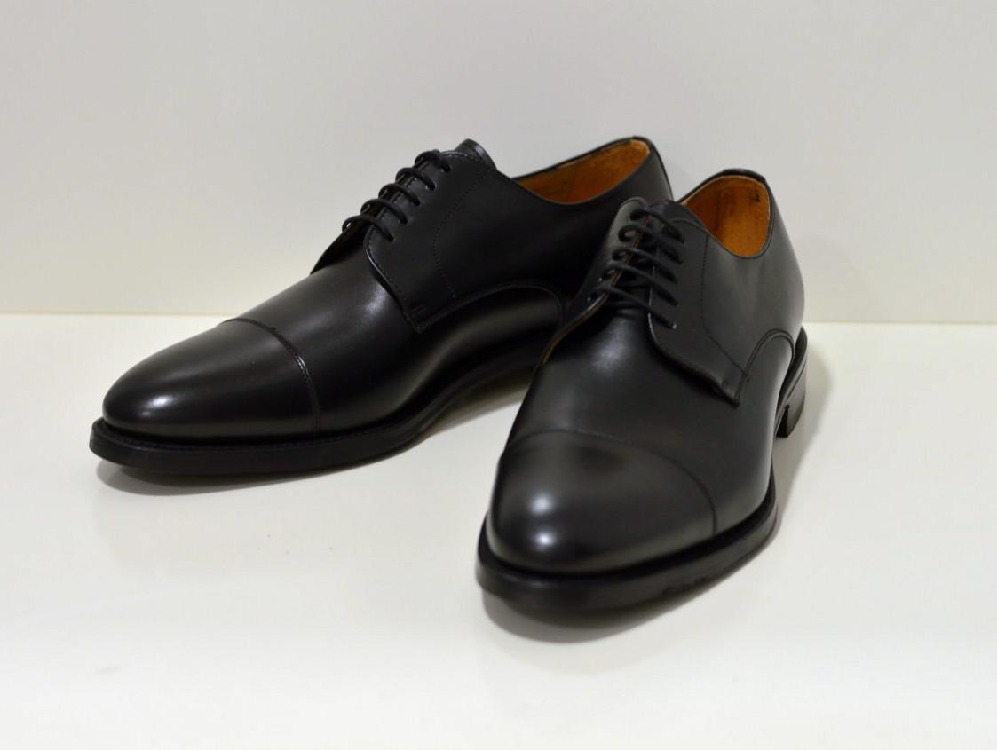 Berwick Rahmengenähter Derby Schuh mit Quernaht