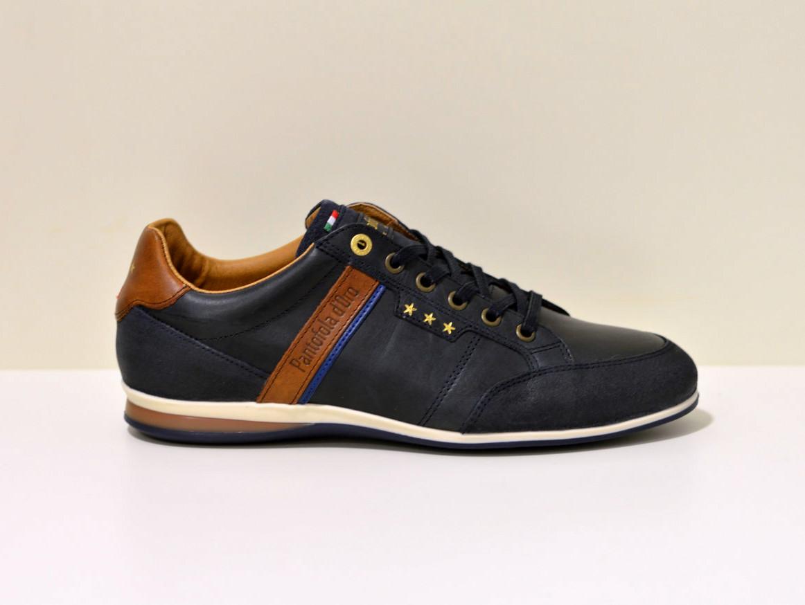 Pantofola d´Oro Sneaker aus Leder Roma  blau