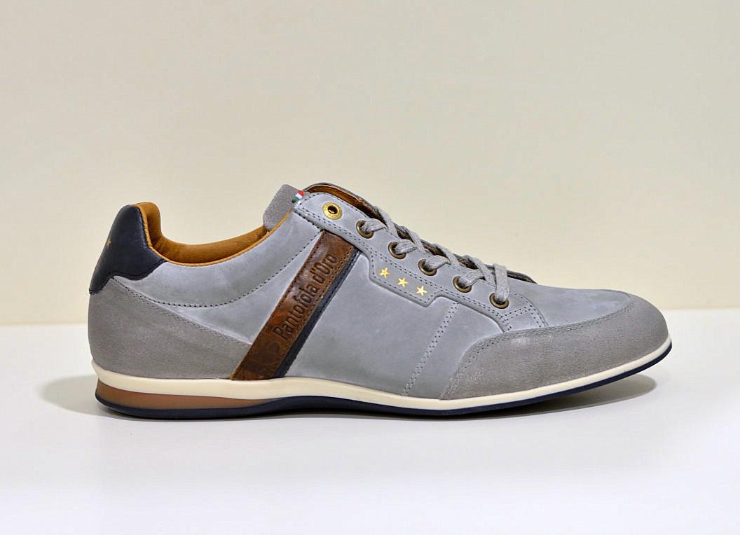 Pantofola d´Oro leder Sneaker Roma Gray Violet