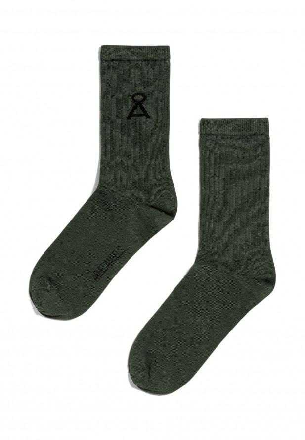 Armedangels Armedangels SAAMU Socken aus Bio-Baumwoll Mix forest green