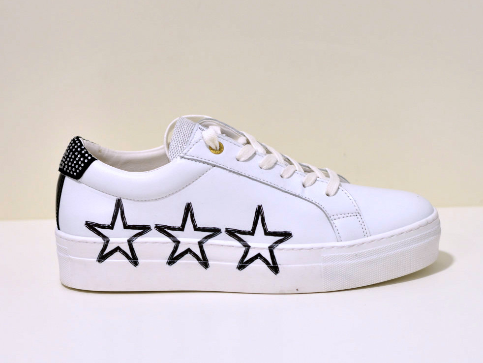 Pantofola d´Oro Sneaker aus Leder Napoli Stelle