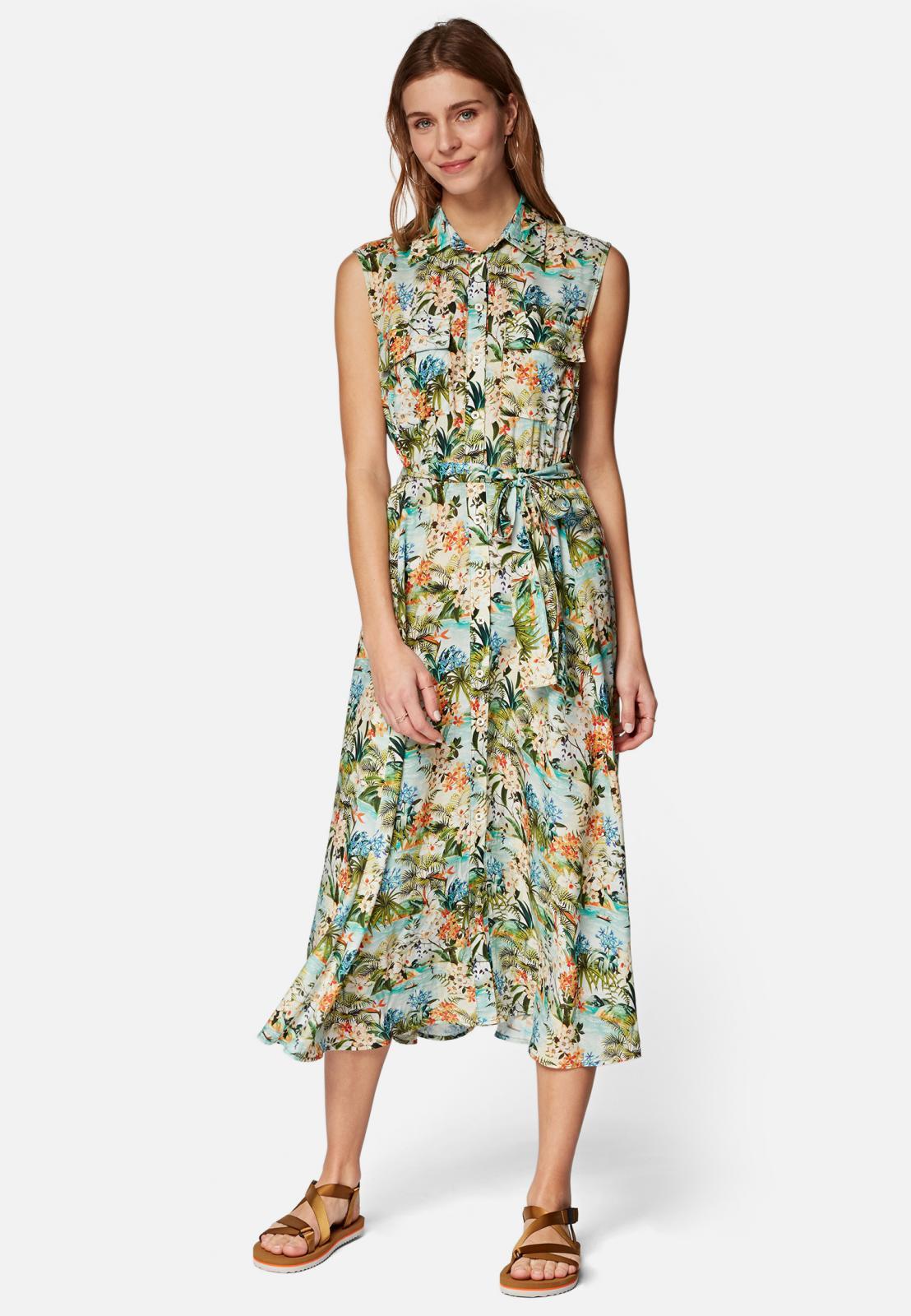 Mavi Kleid mit knallingem Blumenmuster