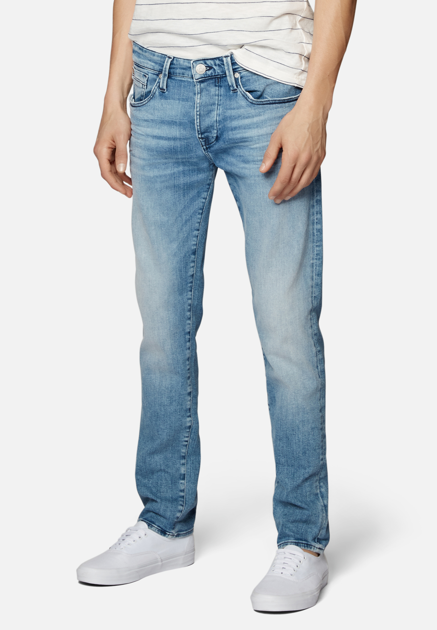 Mavi Jeans YVES mid brushed ultra move