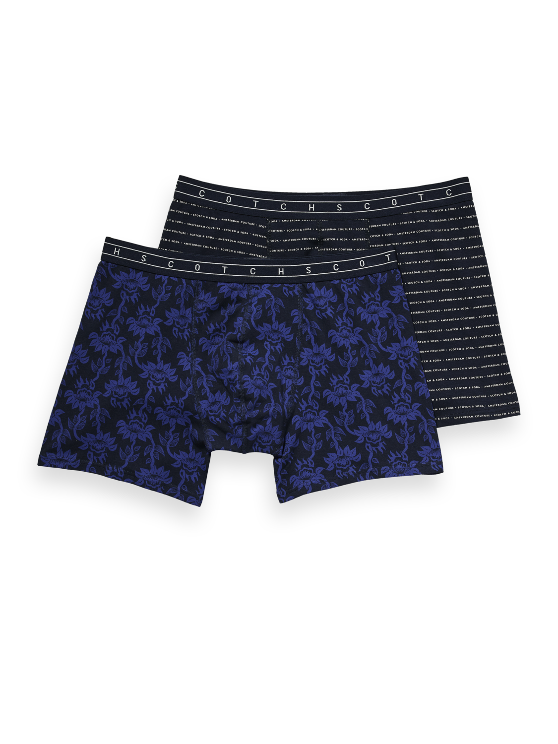 Scotch & Soda Boxershorts 2-er Pack in all-over patterns 157593