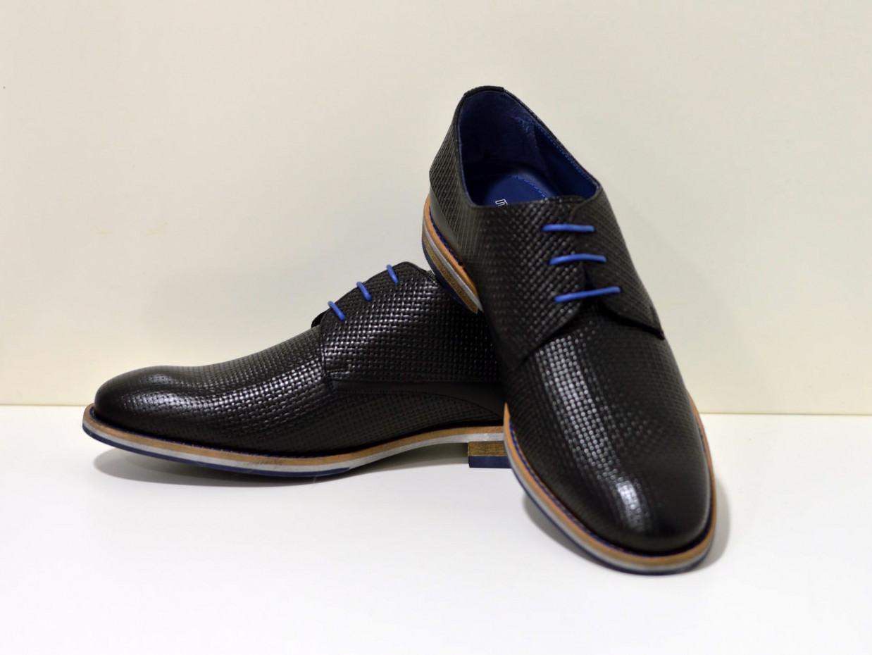 Nicola Benson Sportlicher Business Schuh mit Flechtmuster