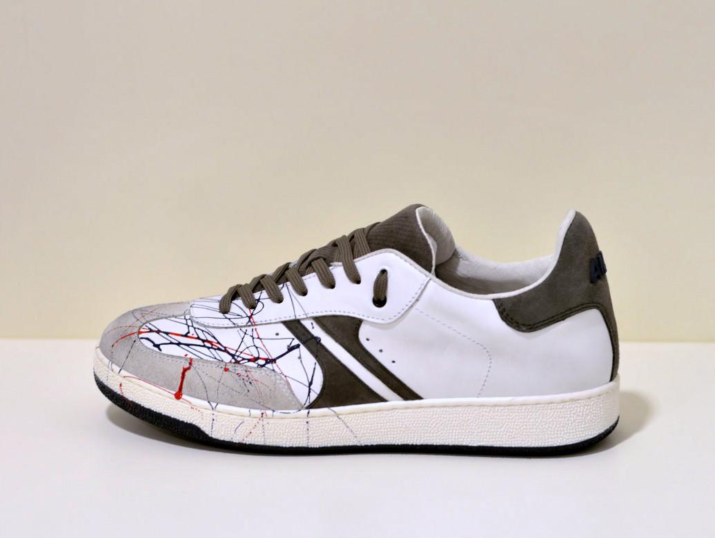 Antony Morato Sneaker handbemahlt Limited aus feinsten Leder