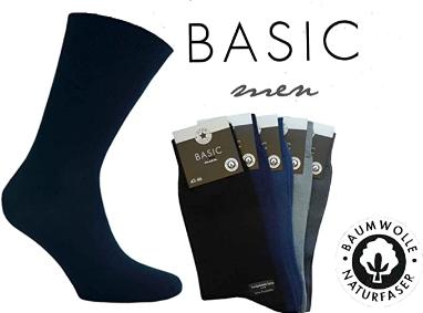 5er Pack  Socken von Star-Socks Basic Men Mehrfarbig 100% Baumwolle