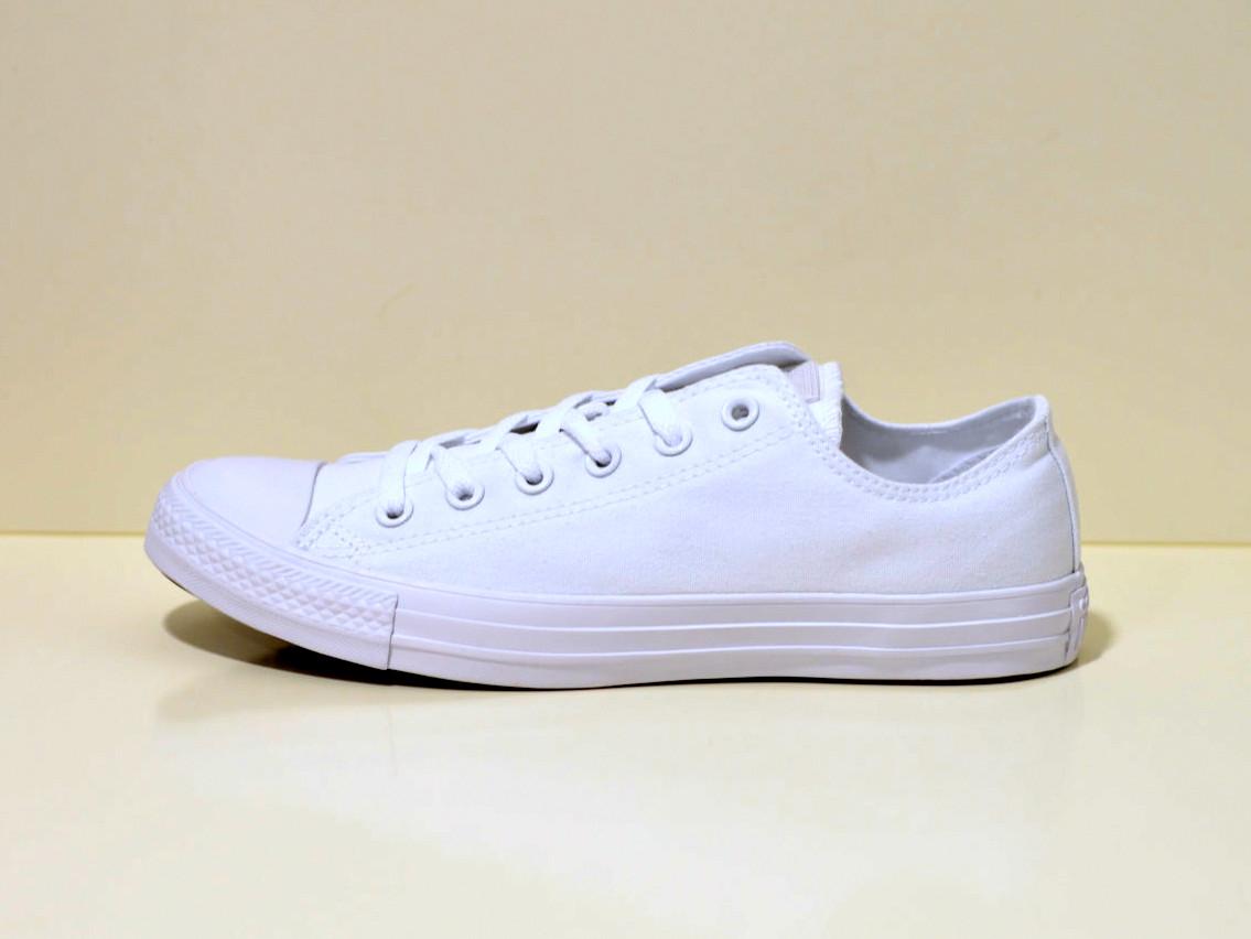 CONVERSE Chuck Taylor All Star - Sneaker flach weiß mono