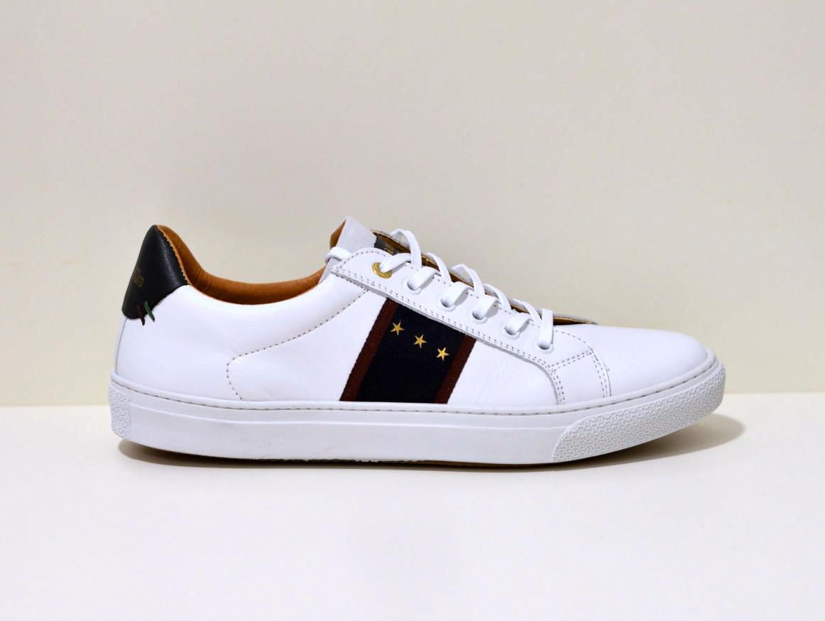 Pantofola d´Oro  Sneaker aus Leder Zelo weiß