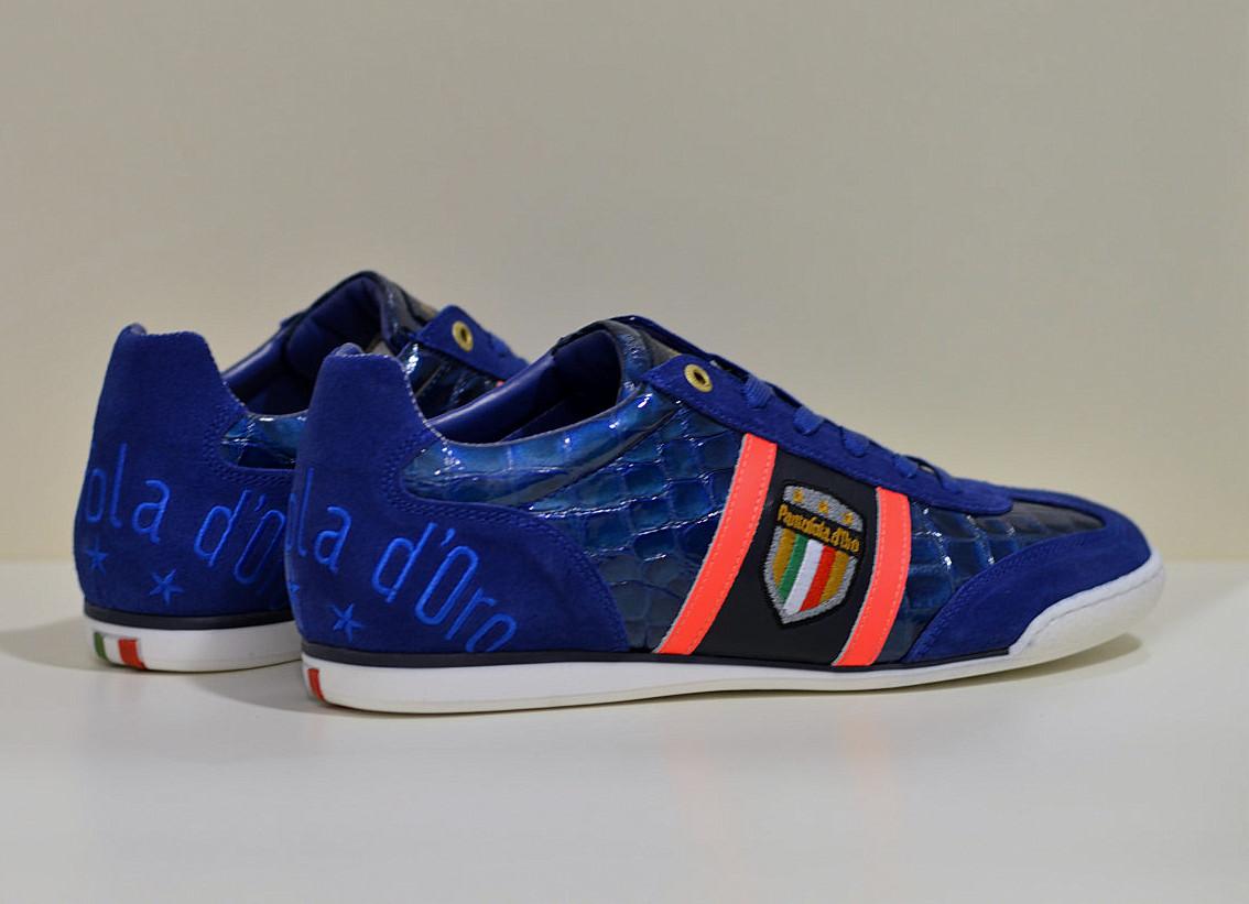 Pantofola d´Oro leder Sneaker Fortezza Olympian Blue