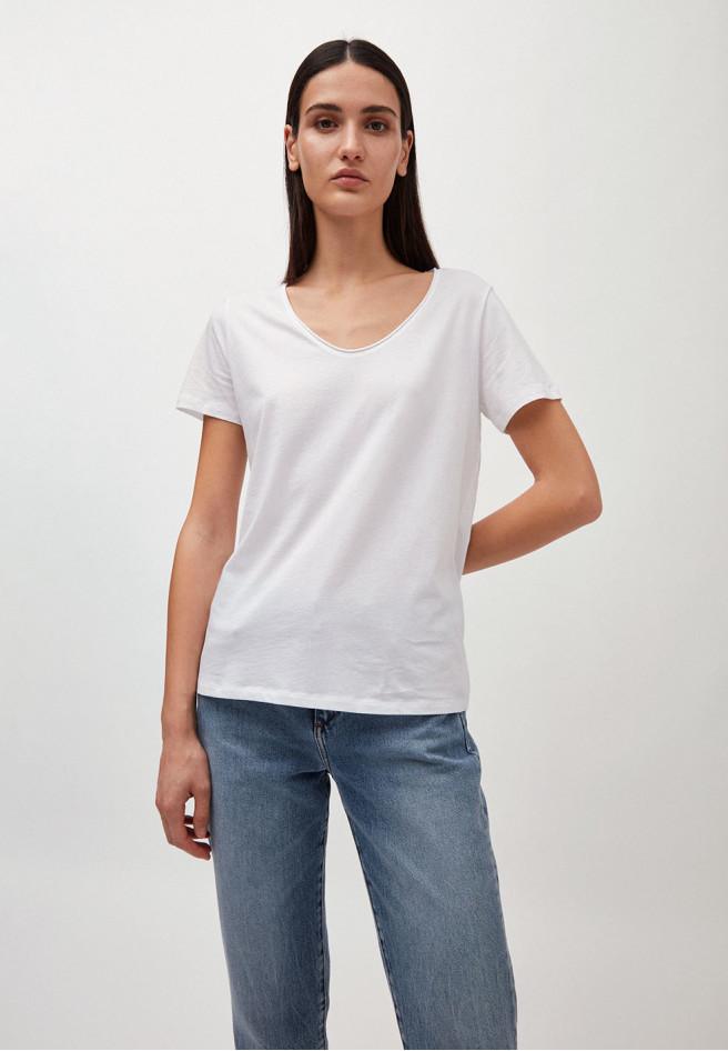 Armedangels HAADIA T-Shirt aus 100% Bio-Baumwolle white