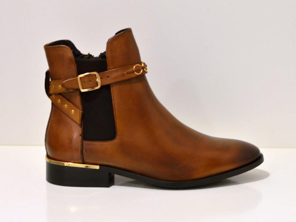Copenhagen Shoes PARADISE - Stiefelette in Cognac