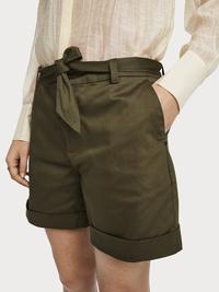Scotch & Soda Merzerisierte Chino-Shorts