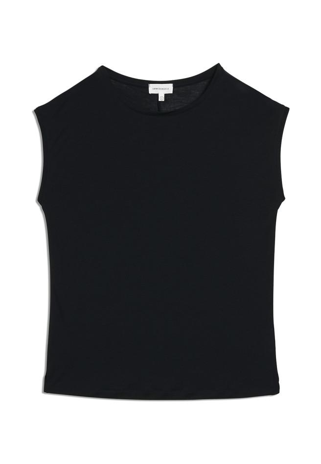 ARMEDANGELS JILAA - Damen T-Shirt aus TENCEL Lyocell schwarz