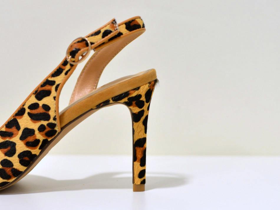 Alma en Pena Medium heels Pumps  LEOPARDO aus Cavalino Leder