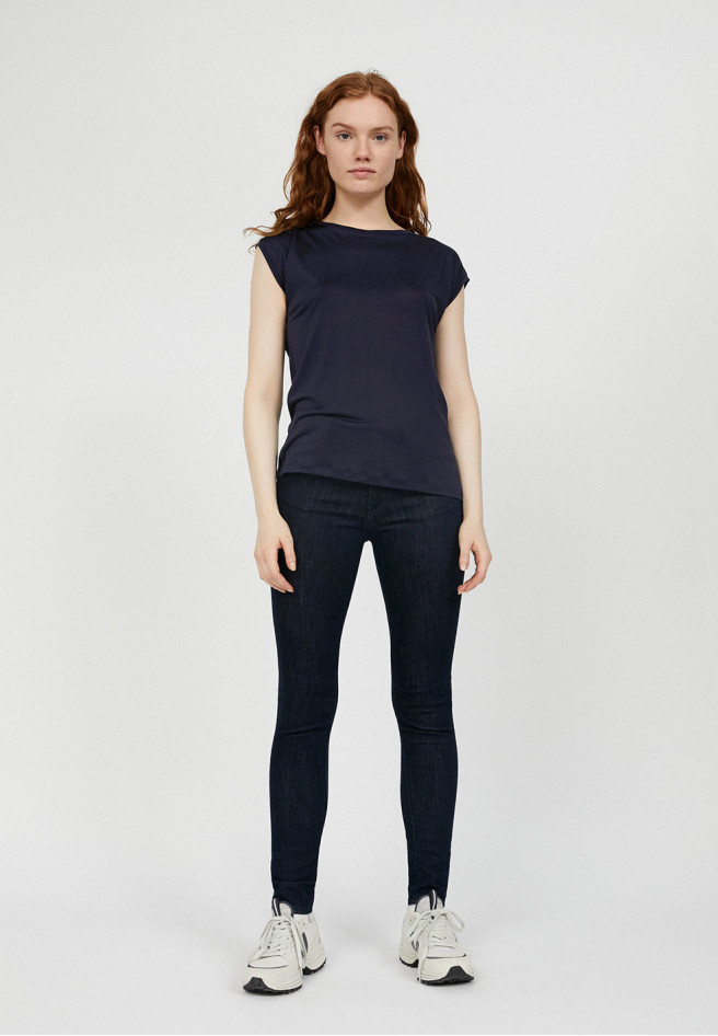 ARMEDANGELS JILAA - Damen T-Shirt aus TENCEL Lyocell night sky
