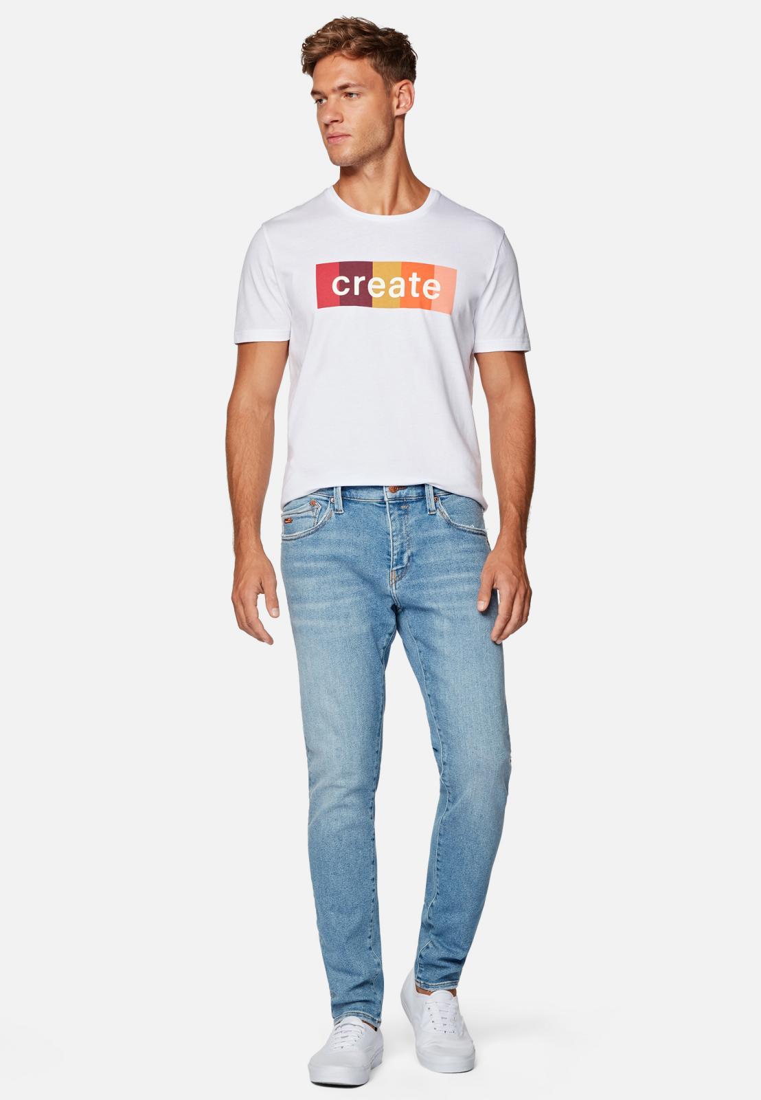 Mavi Ultra Move – Skinny Jeans in hellblau