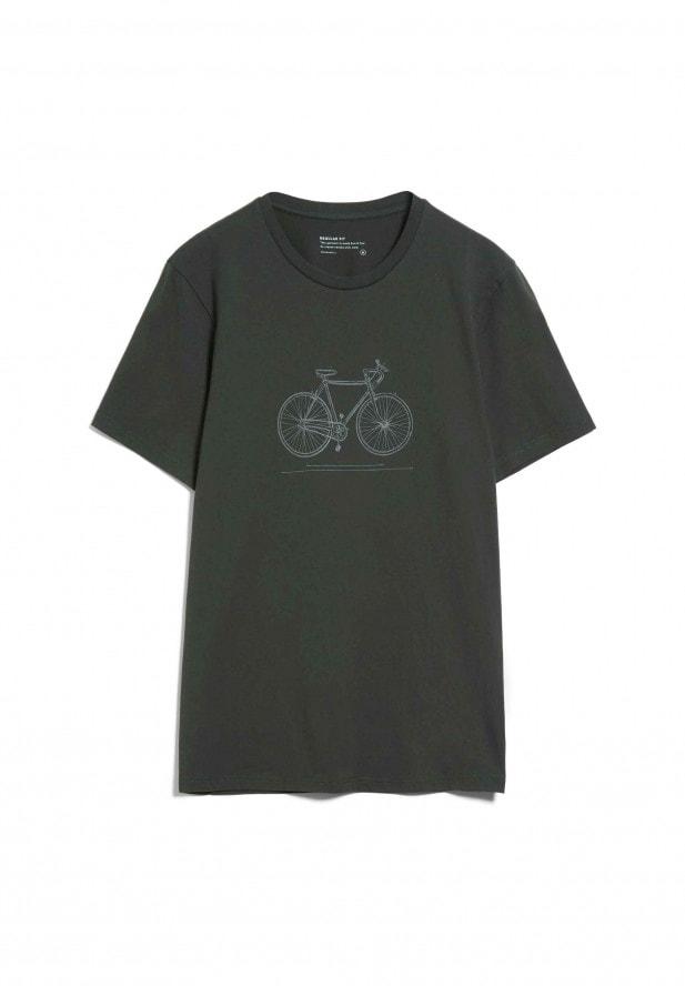 Armedangels  JAAMES TECH BIKE T-Shirt aus Bio-Baumwolle dark Pine
