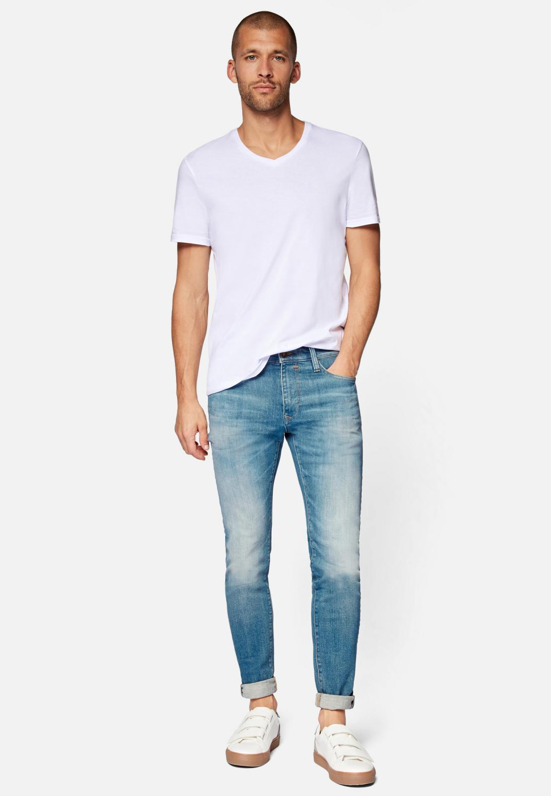 Mavi Skinny Jeans James Ash Blue Ultra Move