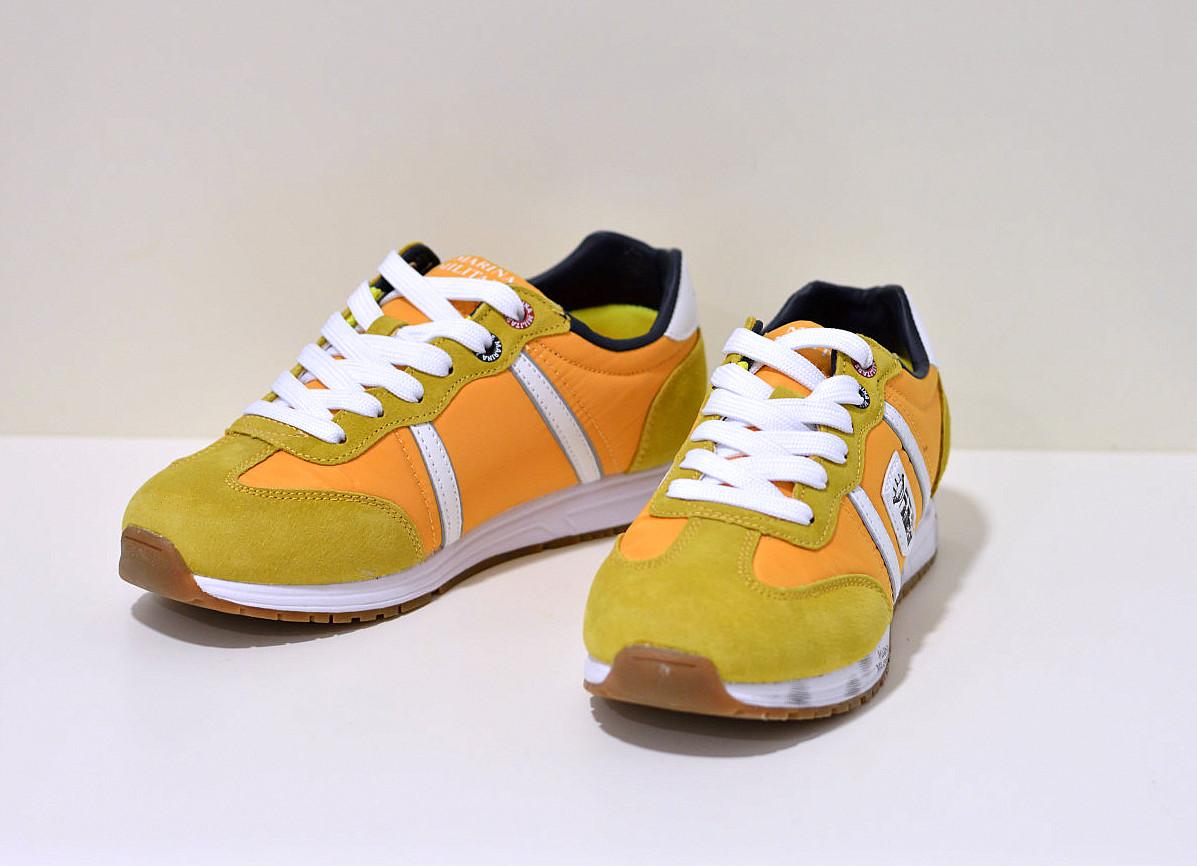 Marina Militare Sneaker gelb / weiß mit Memory Fit Damen