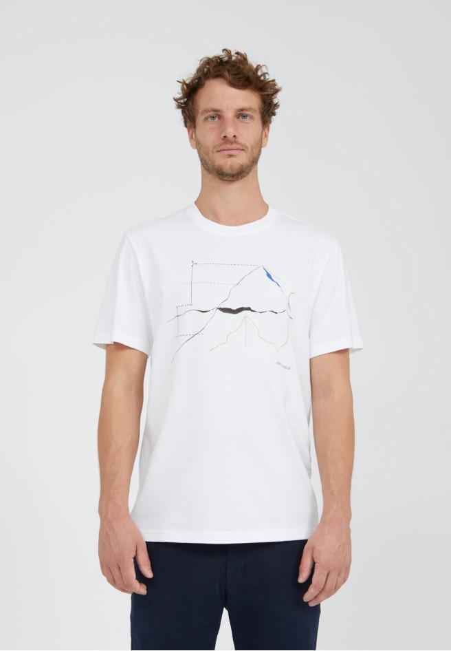 Armedangels  AADO MEASURE HIGH T-Shirt aus Bio-Baumwolle