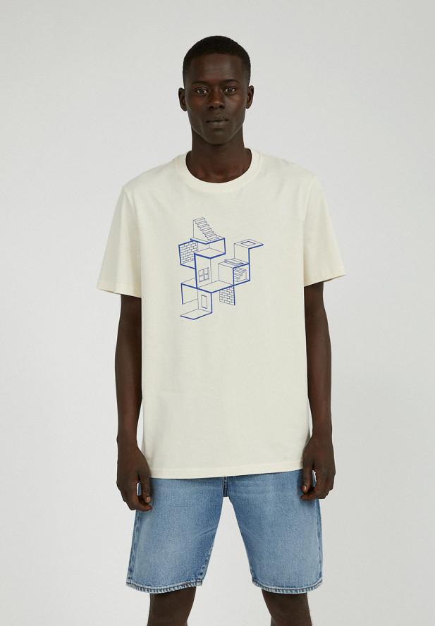 Armedangels  AADO LABYRINTH UNDYED T-Shirt aus Bio-Baumwolle