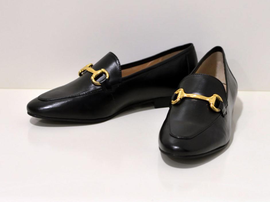 Tube Loafers aus Nappaleder