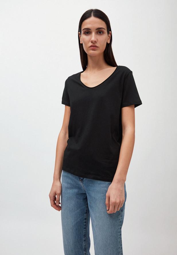 Armedangels HAADIA T-Shirt aus 100% Bio-Baumwolle black
