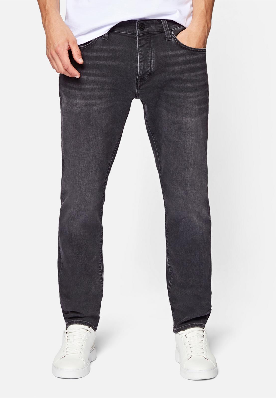 YVES | Slim Skinny Jeans grau/schwarz