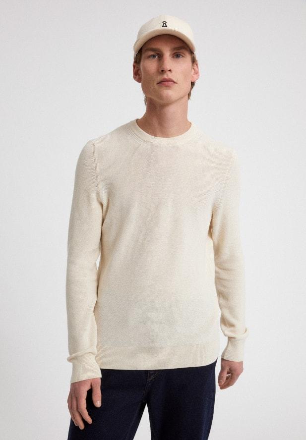 Armedangels  RAAMI UNDYED Pullover aus Bio-Baumwoll-Leinen Mix undyed