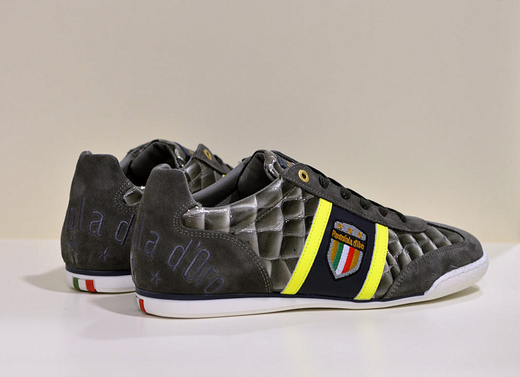 Pantofola d´Oro  leder Sneaker Fortezza Gray Violet