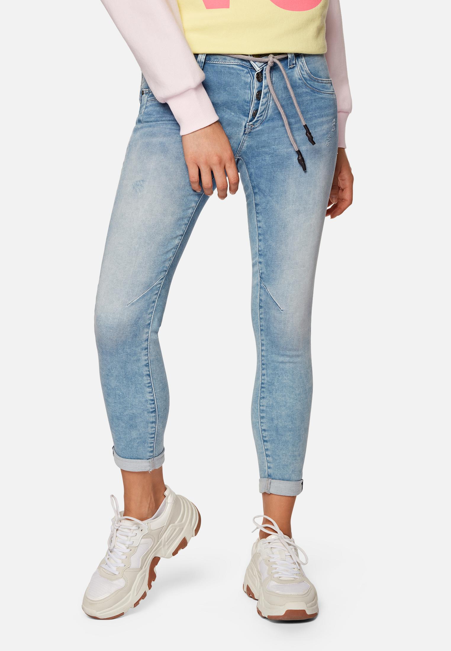 Mavi Lexy Super Skinny Jeans mit mittlerer Leibhöhe Sporty