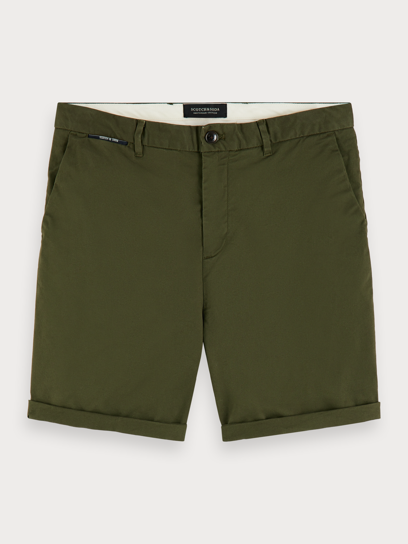 Scotch&Soda Chino-Shorts aus Pima-Baumwolle grün