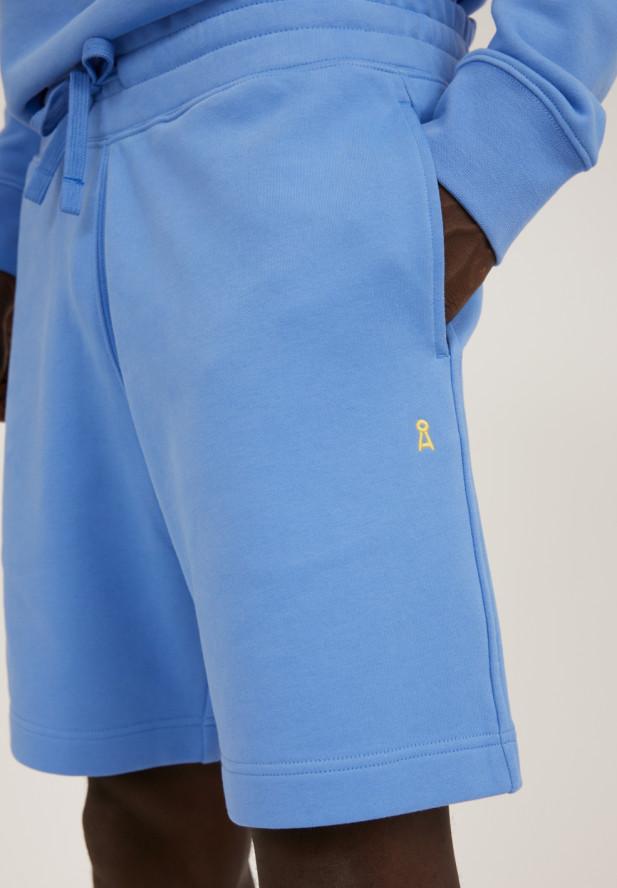 Armedangels  MAARCEL COMFORT Sweat Shorts aus Bio-Baumwolle dark Cornflower