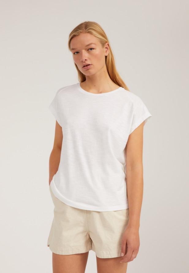 Armedangels  OFELIAA T-Shirt aus Bio-Baumwolle white