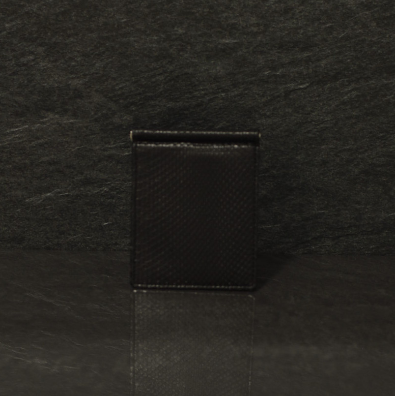 Fausto Colato Python-Geldbörse mit Geldclip in schwarz